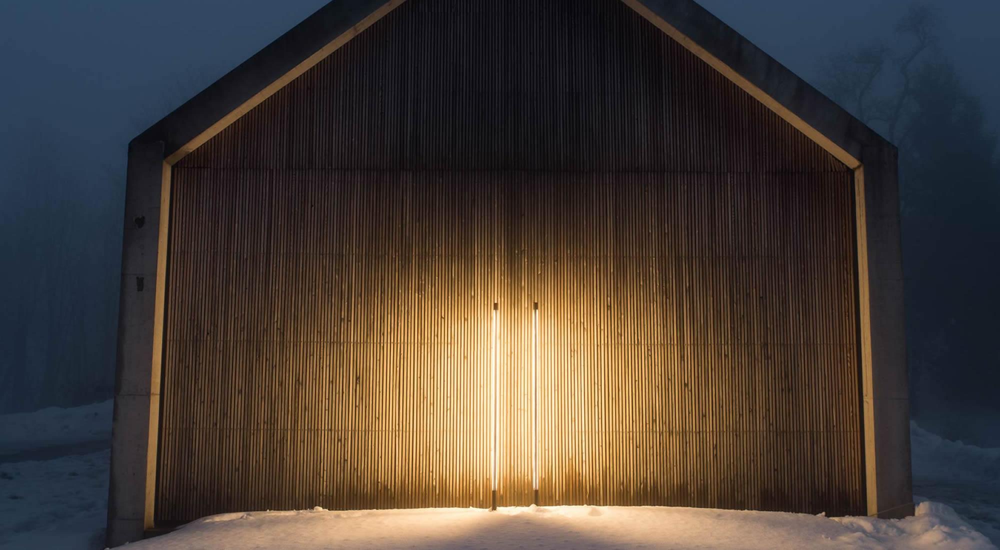 Lichtinstallation Kulturkraftwerk