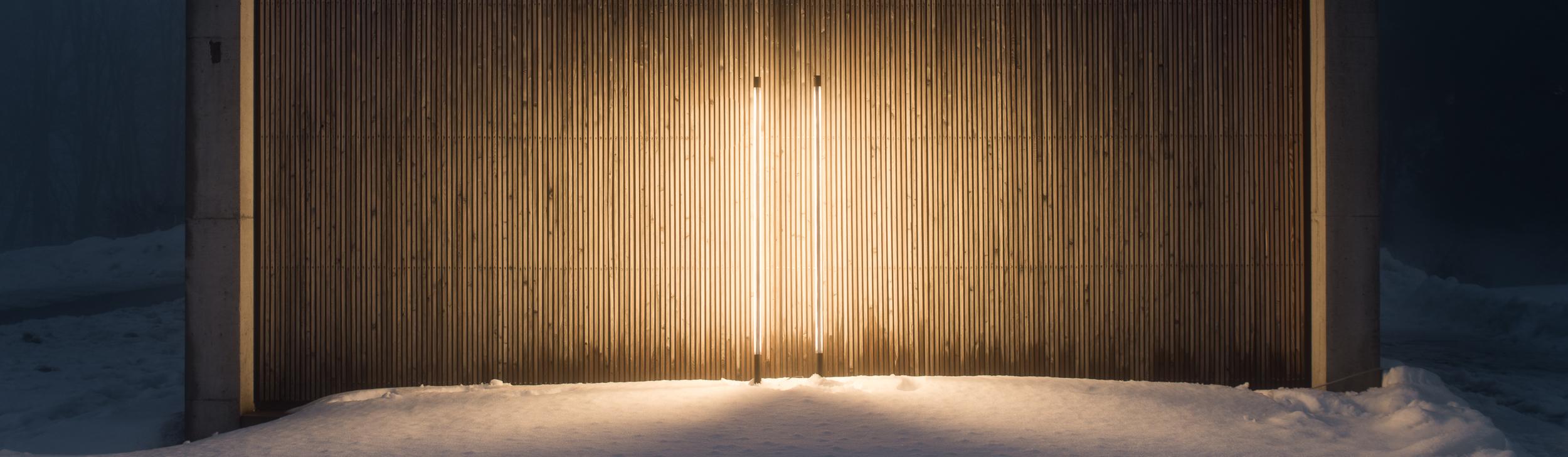 Lichtinstallation Kultur-Kraftwerk